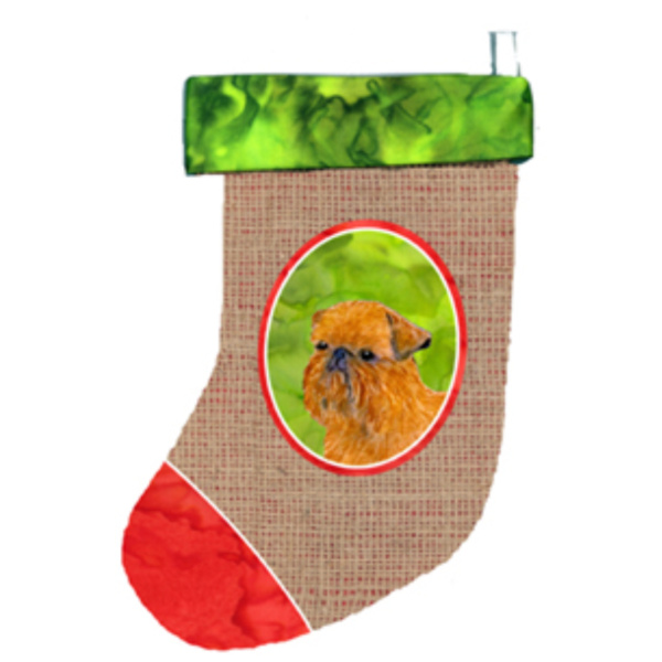 Brussels Griffon Christmas Stocking SS2015