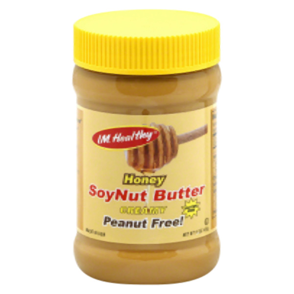 I M Healthy Creamy Soynut Butter With Honey 15 Oz (Pack of 6)