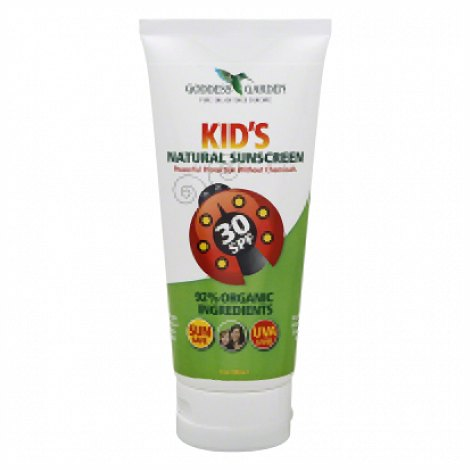 Kids Natural Sunscreen Spf 30 - 6 Oz - Liquid
