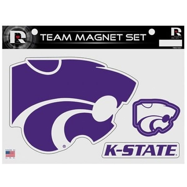 Product Image: Kansas State Wildcats Team College Sports Ncaa Magnet Set of 3