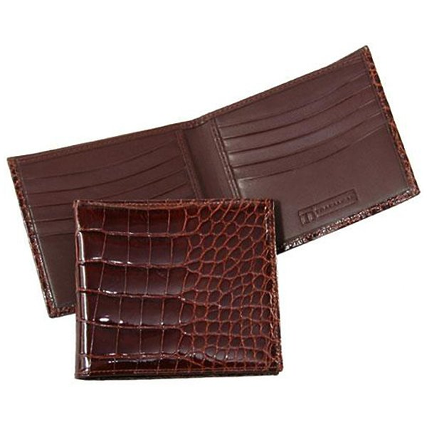 Product Image: Alligator Hipster Wallet - Chestnut