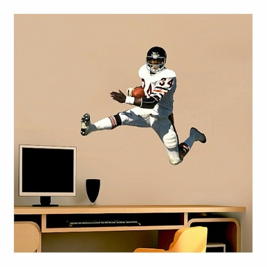 Chicago Bears Walter Payton player fathead junior