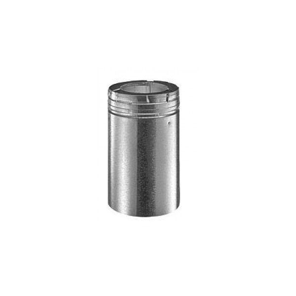 Dura-Vent 46DVA-08A 4'' x 6-5/8'' DirectVent Pro 8-1/2'' Galvanized Chimney Pipe Extension