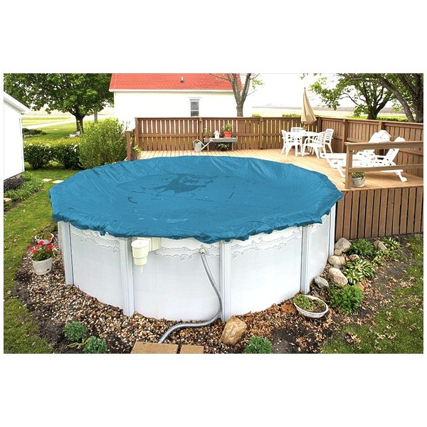 Robelle 3528-4 Super Guard Winter Cover for 28 ft. Round Above Ground Swimming Pool