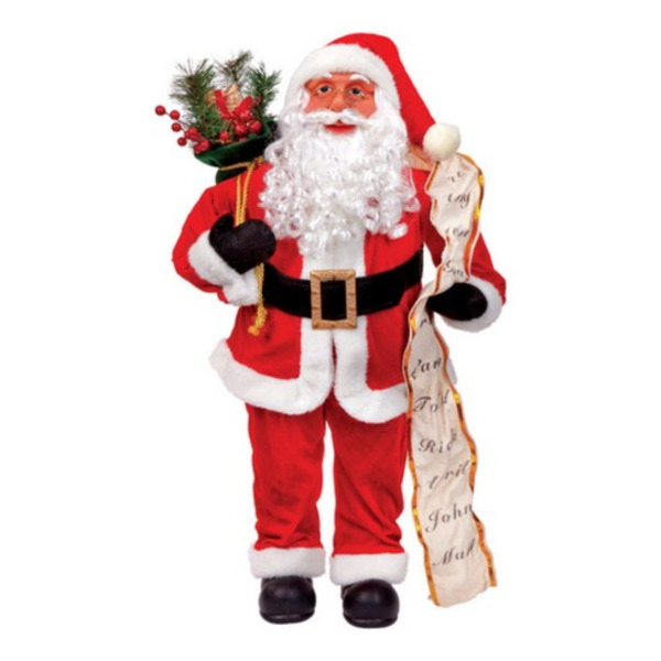 Product Image: Golden Arts & Gifts YHH13-008 32 in. Standing Plush Santa Claus