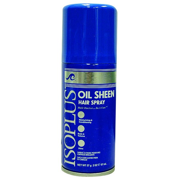 DDI IsoplusOil Sheen Hair Spray Regular- Case of 48