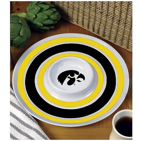 BSI PRODUCTS 38024 Melamine Serving Tray- Iowa Hawkeyes