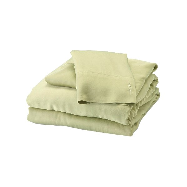 BedVoyage 10981922 Sheet Set - Split King - Sage