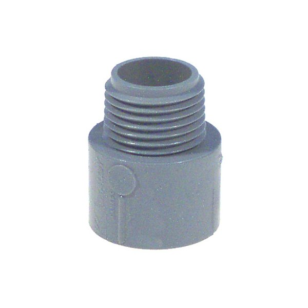 Thomas And Betts Lamson 1-.50 in. Non Metallic Male Terminal Adapter Slip To Threa