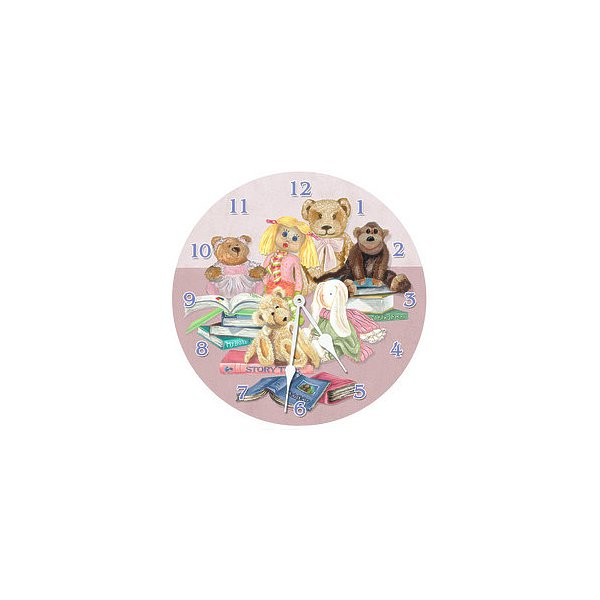 Lexington Studios 23403 - LR Story Time 18 in. Round Clock
