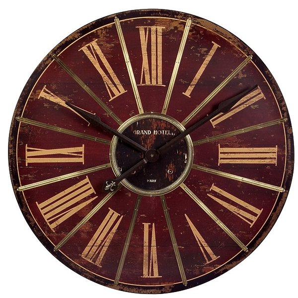IMAX Corporation 16077 Large Red Wall Clock