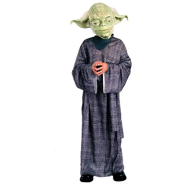 Rubies Costume Co 10601 Star Wars Yoda Deluxe Child Costume Size Small- Boys 4-6