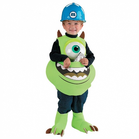 Disguise Inc 11024 Monsters Inc. Disney Mike Candy Catcher Child Costume Size Up to size 6