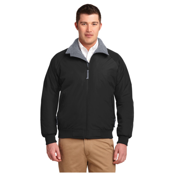 Product Image: Port Authority Mens Challenger Jacket (J754) -True Black -5XL - Mens XXXXX-Large True Black/ Grey Heather
