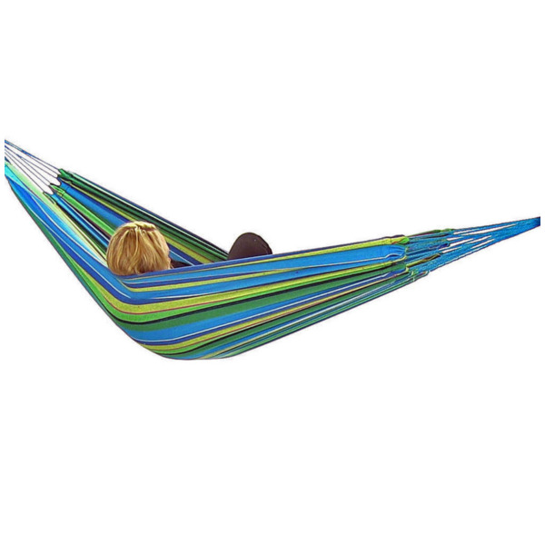 Product Image: Sunnydaze Jumbo Brazilian Double Hammock, Extra Long, Large 2 Person, Portable Hammock Bed for Camping, Indoor or Outdoor Use, with Carrying Pouch, Max Weight: 450 Pounds, Sea Grass