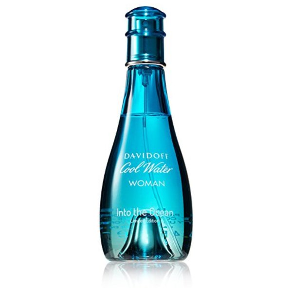 Product Image: Davidoff Cool Water Into The Ocean Eau De Toilette Spray For Women, 3.4 Ounce