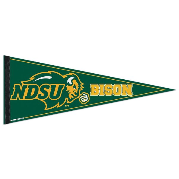 Product Image: North Dakota State Bison Official NCAA 12 inch x 30 inch Felt Pennant by Wincraft 975256