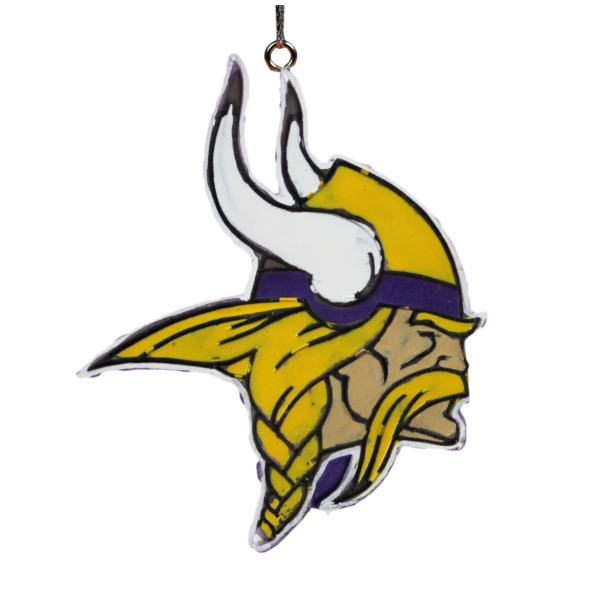 Product Image: Minnesota Vikings Official NFL Holiday Christmas Ornament Logo by Forever Collectibles 198944