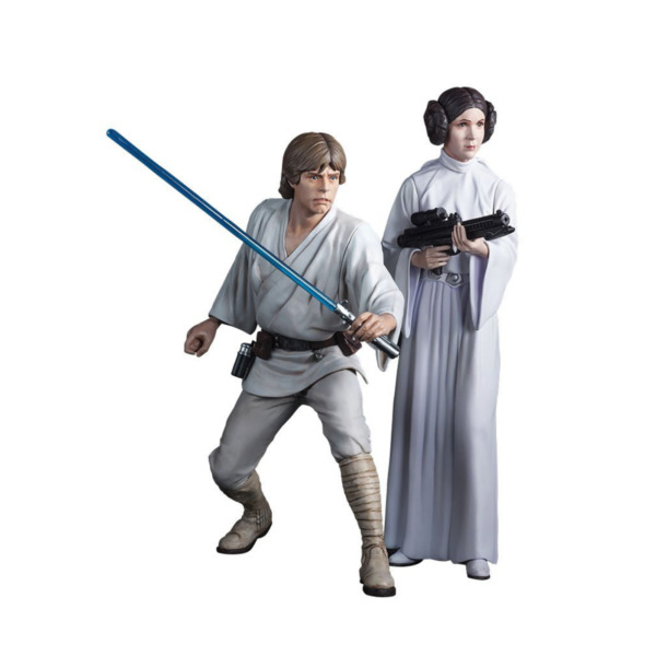 Product Image: Star Wars ARTFX+ Statue: Luke Skywalker and Princess Leia