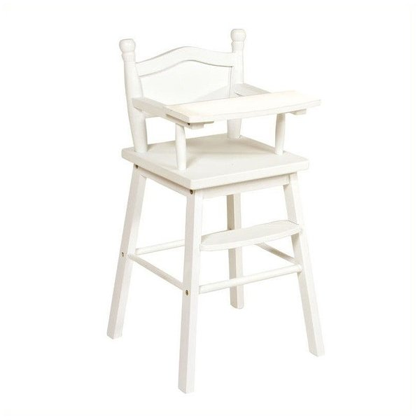 Product Image: Guidecraft Doll High Chair in White