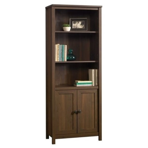 Product Image: Bowery Hill 3 Shelf Bookcase in Rum Walnut