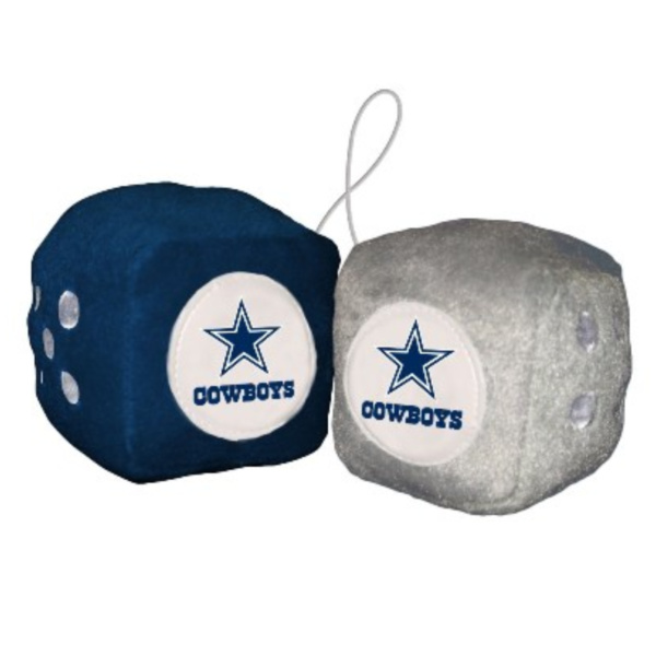 Fuzzy Dice Dallas Cowboys - 98003B