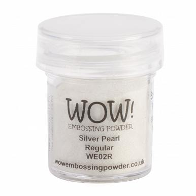 WOW! Embossing Powder 15ml-Silver Pearl