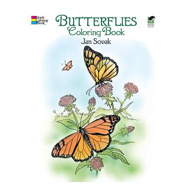Dover Publications-Butterflies Coloring Book