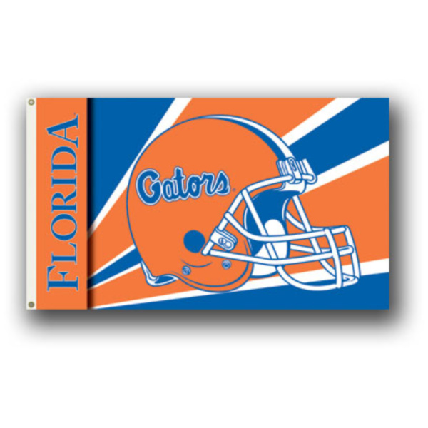 3 Ft. X 5 Ft. Flag With Grommets - Helmet Design Florida Gators - 95309