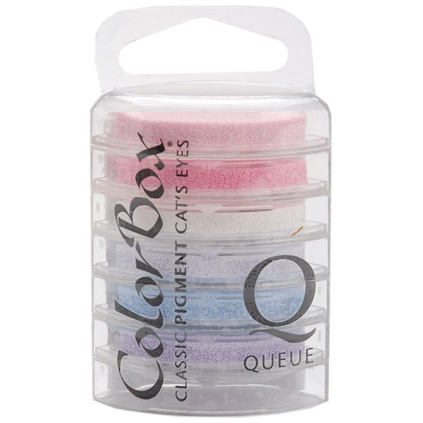 Product Image: ColorBox Pigment Cat's Eye Ink Pads Queue 6 Per Package-Baby's Breath