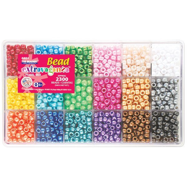 Product Image: Bead Extravaganza Bead Box Kit 19.75oz-Pearl