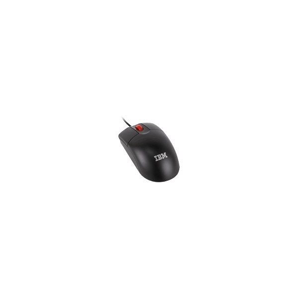 Lenovo - Mouse - optical - 2 buttons - wired - USB - black - for System x3105; x32XX M2; x34XX; x3550 M2; x35XX; x3650 M2; x3755; x3950; x3950 E; x3950 M2