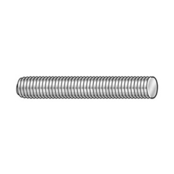 Product Image: Threaded Stud, Steel, 10-32 x 2 In, Pk 100