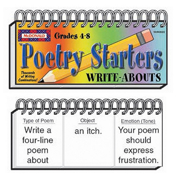Write-Abouts Poetry Starters