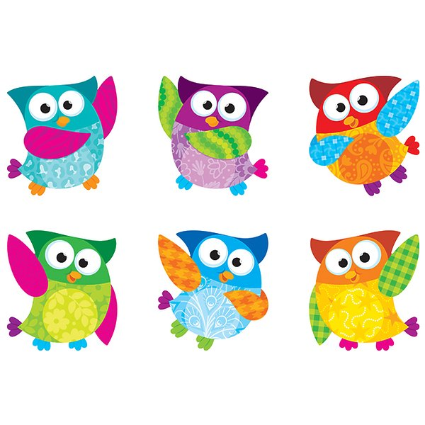 Owl Stars Classic Accents Variety