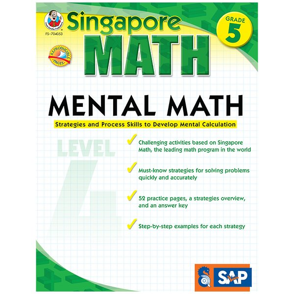 Mental Math Level 4 Gr 5