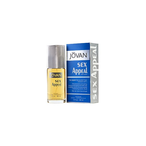 JOVAN SEX APPEAL by Jovan COLOGNE SPRAY 3 OZ