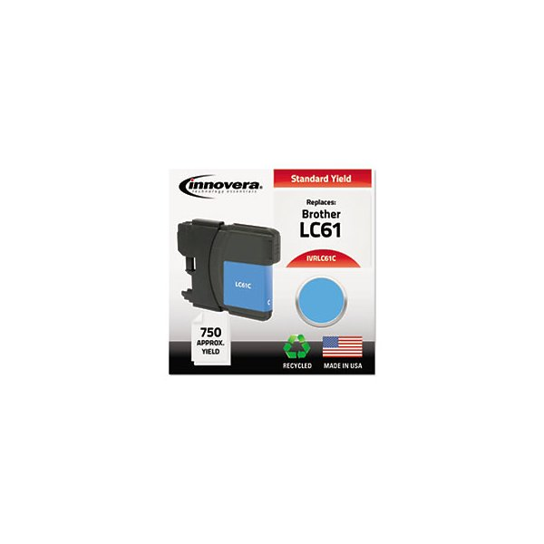 Remanufactured Lc61C Ink, Cyan