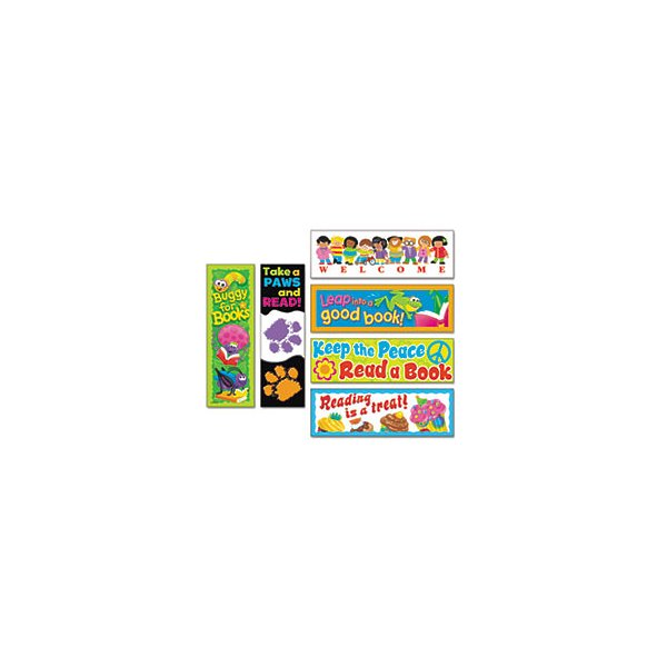 Bookmark Combo Packs, Celebrate Reading Variety #1, 2W X 6H, 216Per Pack