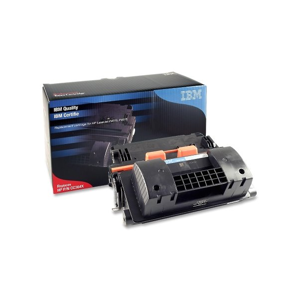 Ibm Remanufactured High Yield Toner Cartridge Alternative For Hp 64X (