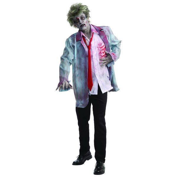 Zombie Man Costume As Shown One Size