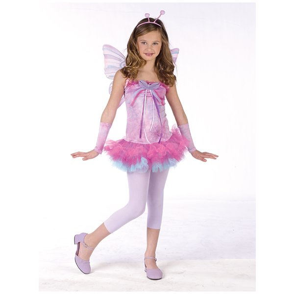 Fluttery Butterfly Teen Costume As Shown Women Teen (Juniors 0-9)