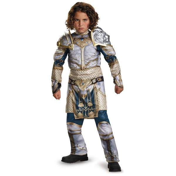 Product Image: Boys King Llane Classic Muscle Costume As Shown Boys Teen (14-16)