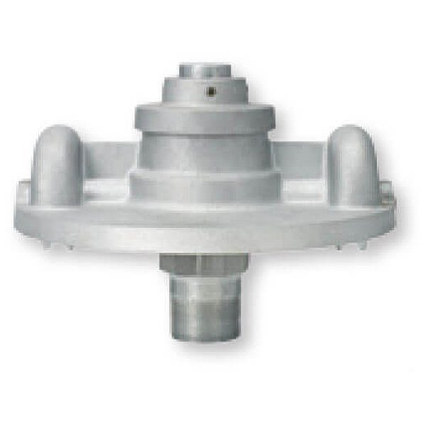 Heavy-duty Double Halyard Revolving Truck Pulley Fits 5-1/2 in Shaft Top Diameter Cast Aluminum